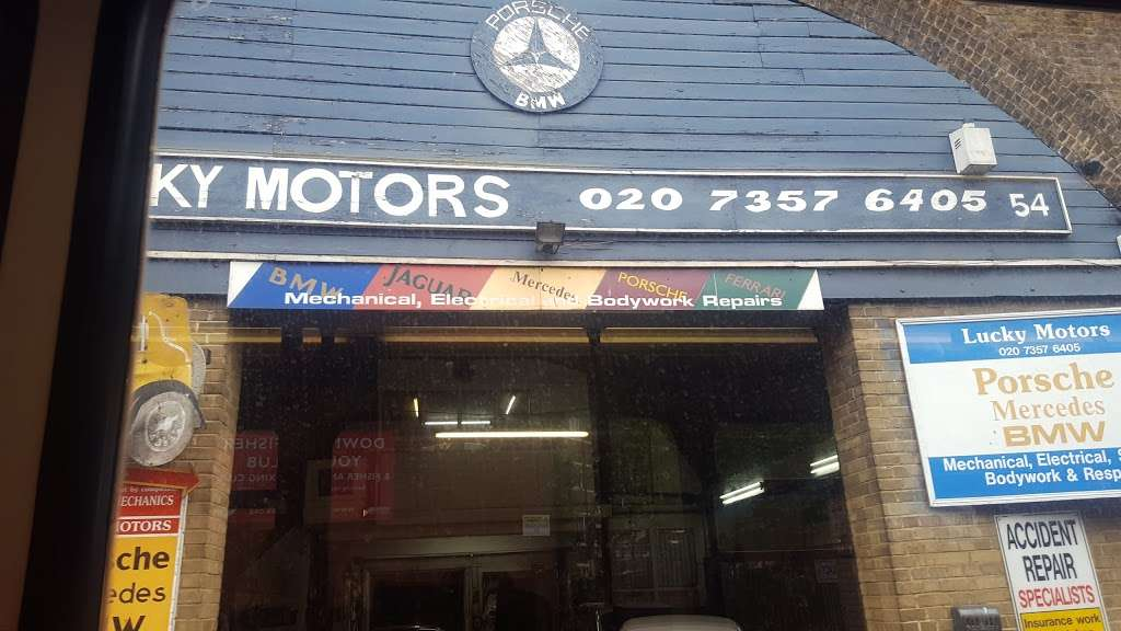 Lucky Motors Car Repair 54 Druid St London Se1 2ez Uk